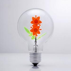 DarkSteve「演活生命」|設計師燈泡 - 太陽花球泡燈 Edison-Style 愛迪生燈泡(純燈泡)