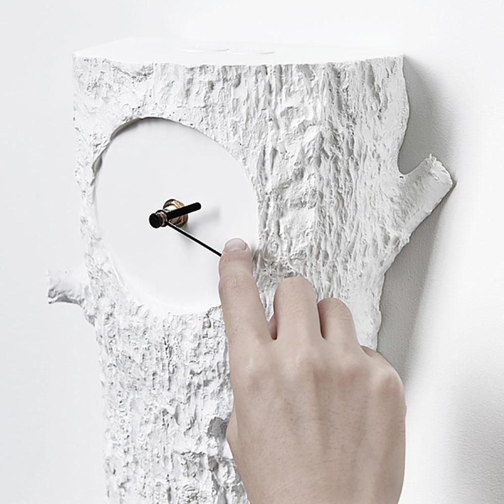 haoshi 良事設計|麻雀時鐘 咕咕鐘 - 樹幹