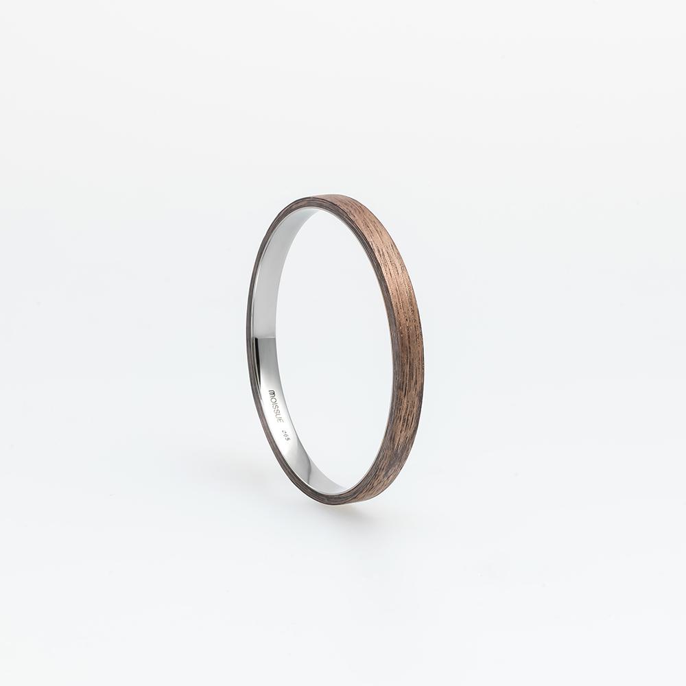 Moissue|木頭手環SECOND LIFE系列(胡桃木)
