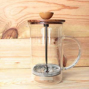 Hario|日製茶具 橄欖木濾壓茶壺600ml(THW-4-OV)