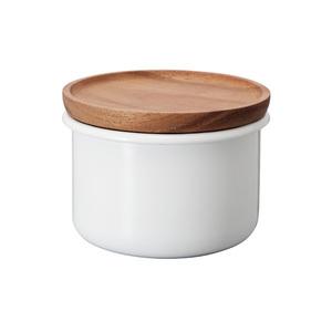HARIO | Bona琺瑯保鮮罐100 (BCN-100-W)