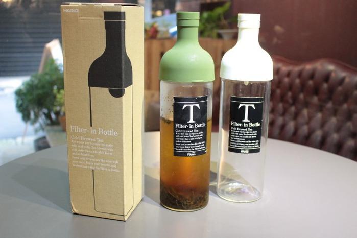 HARIO   酒瓶冷泡茶壺 750ml  綠色 (FIB-75-OG)