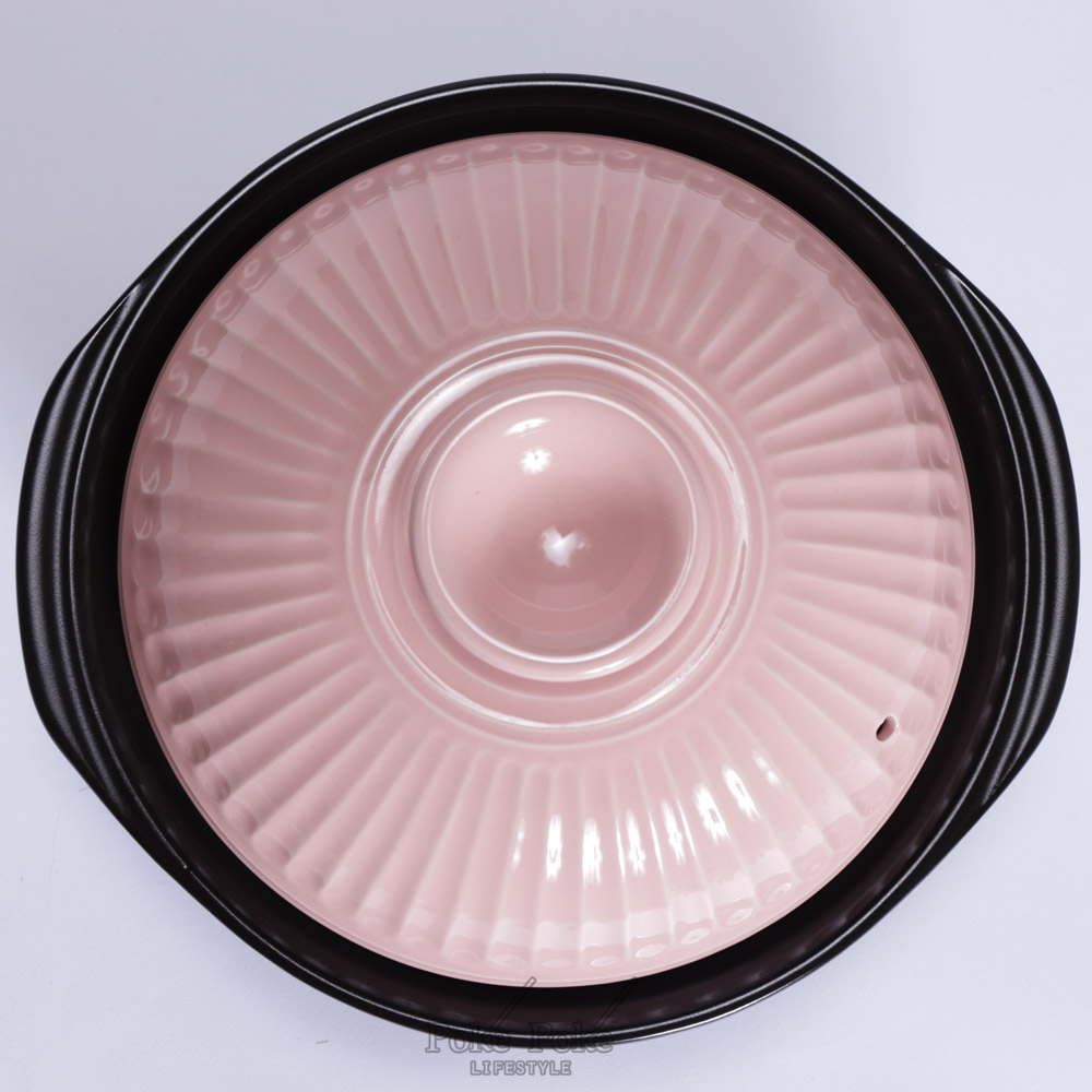 日本銀峯 | 28cm菊花9號土鍋+陶碗x2 (櫻花) (限量超值組)