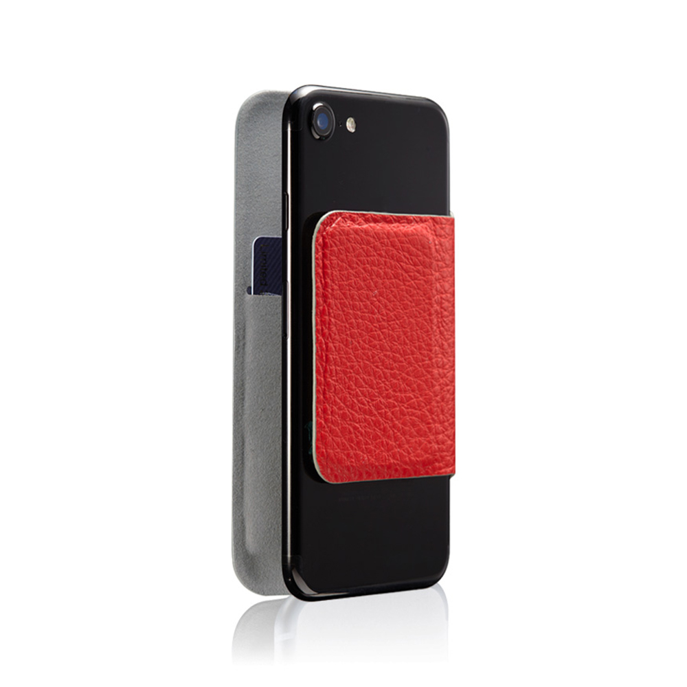 monCarbone MAGSHIELD Napa 皮革磁吸型保護套 for iPhone 7 (紅)