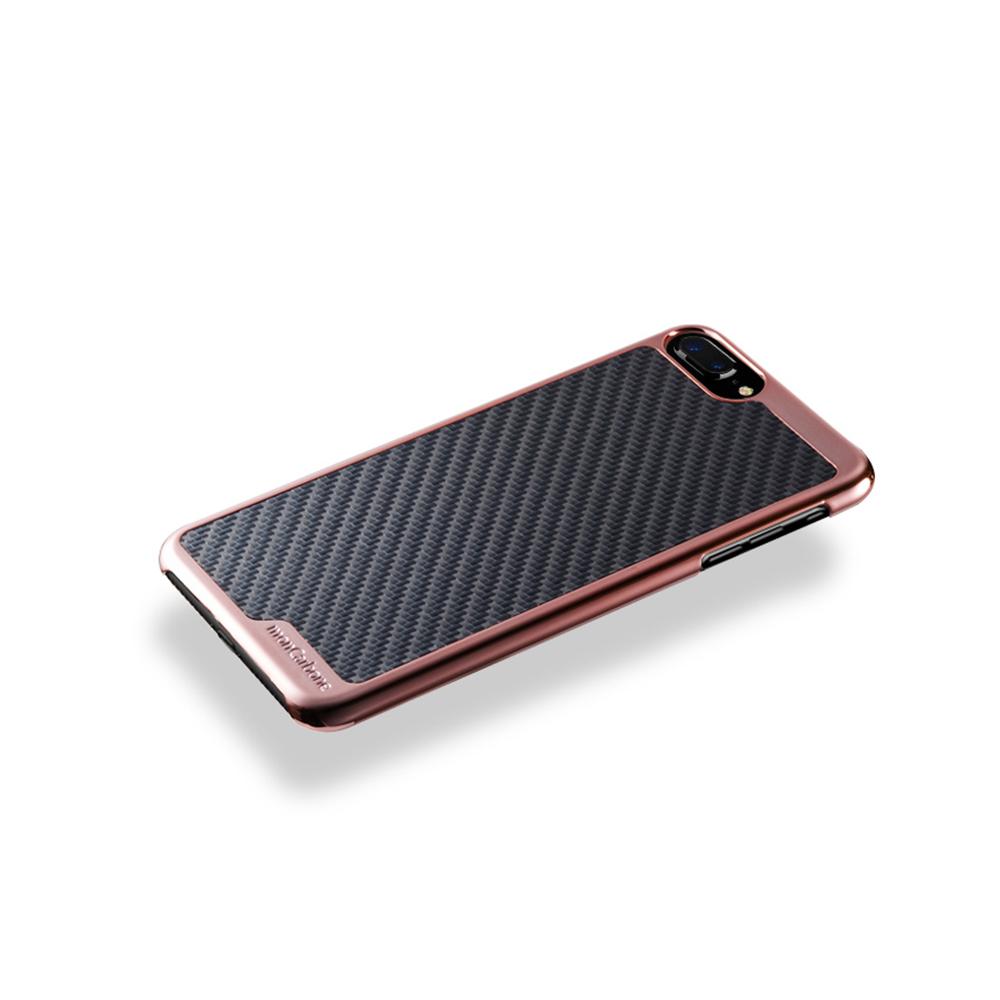 monCarbone|KHROME 碳纖維保護殼 for iPhone 7 (玫瑰金/碳纖黑)