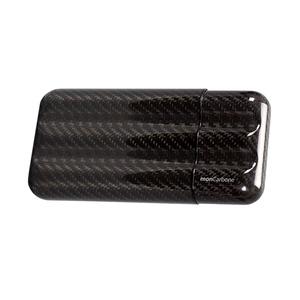 monCarbone 碳纖維隨身雪茄盒 (三根裝)