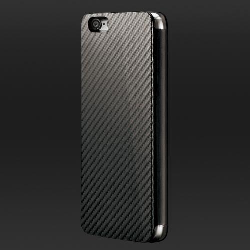 monCarbone|Portfolio 防彈纖維保護殼 for iPhone 6 Plus/6s Plus (典雅黑)
