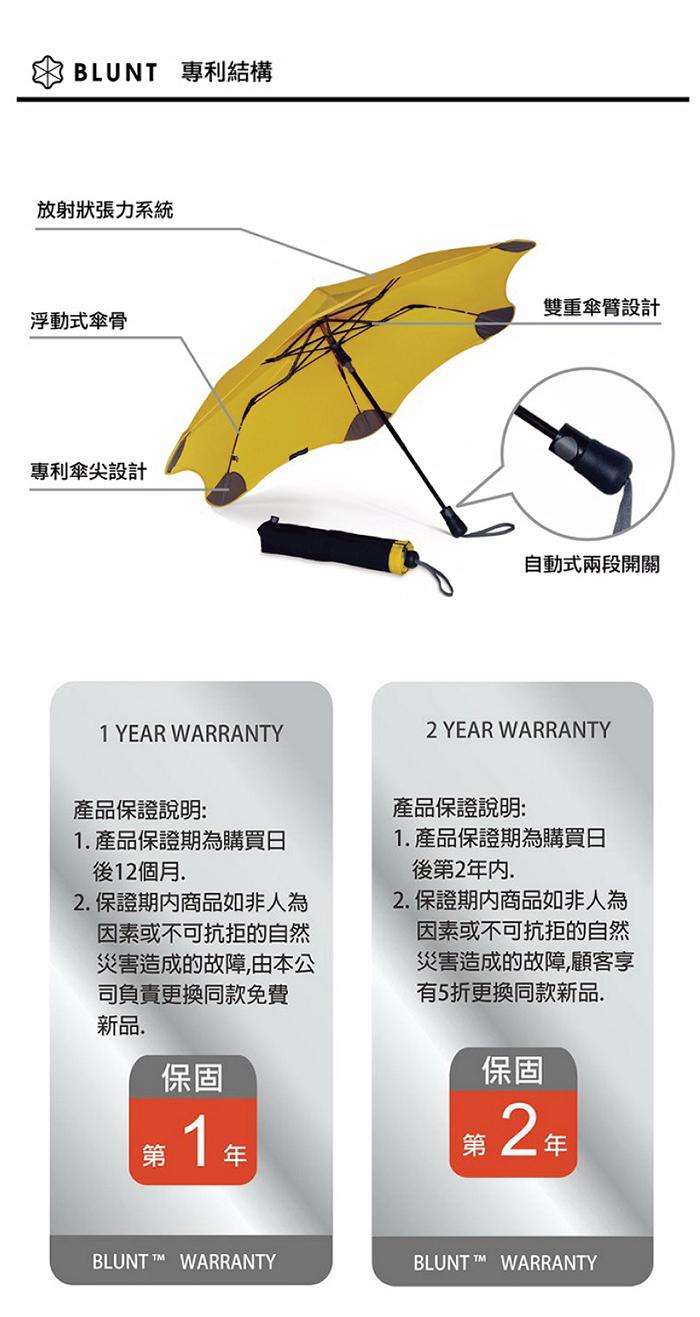 (複製)紐西蘭BLUNT 保蘭特│METRO+ 小小兵限量傘 - 完全抗UV折傘(兩入)