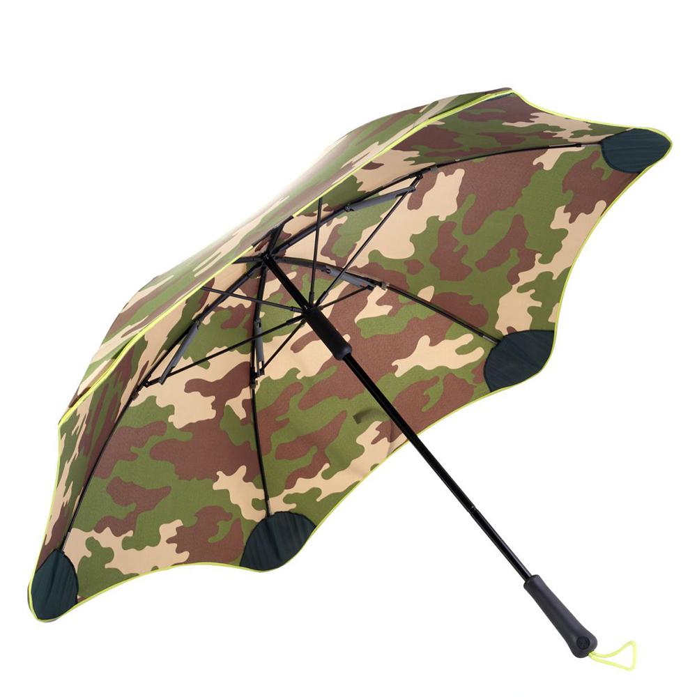 紐西蘭Blunt 保蘭特   120cm抗強風 迷彩直傘 (黃色傘緣)
