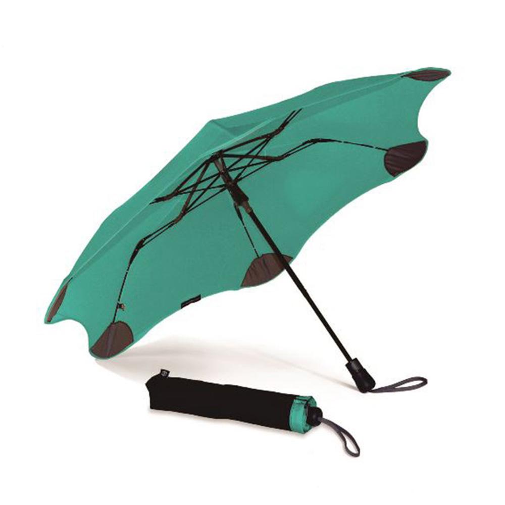 紐西蘭Blunt 保蘭特 | 95cm抗強風 防反傘 Metro折傘 (Tiffany綠)