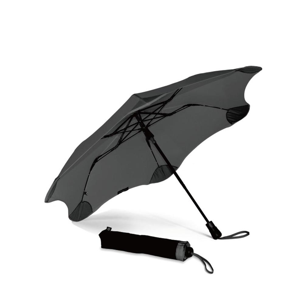 紐西蘭Blunt 保蘭特 | 95cm抗強風 防反傘 Metro折傘 (紳士灰)