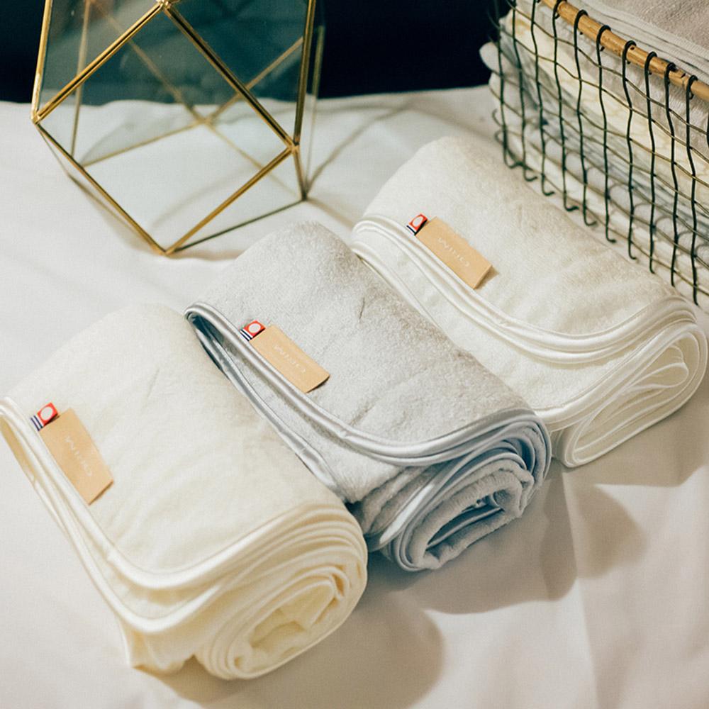 今治織上|日本今治毛巾 今治認證 ORIM PurePure 織夢被 純淨嬰兒巾 (包巾)