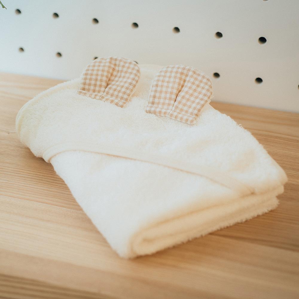 今治織上|日本今治毛巾 今治認證 壺內 Organicbaby (熊熊包巾)