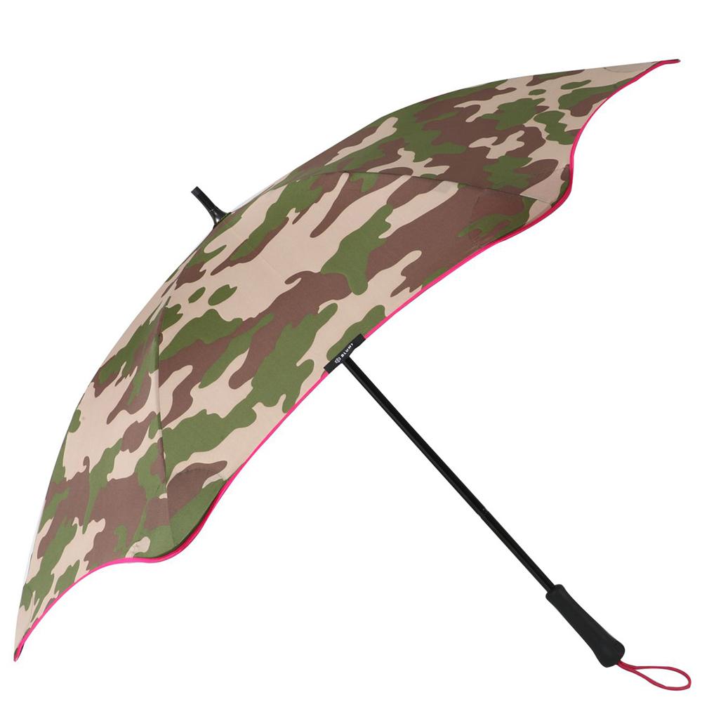 紐西蘭Blunt 保蘭特 | 120cm抗強風 迷彩直傘 (粉色傘緣)