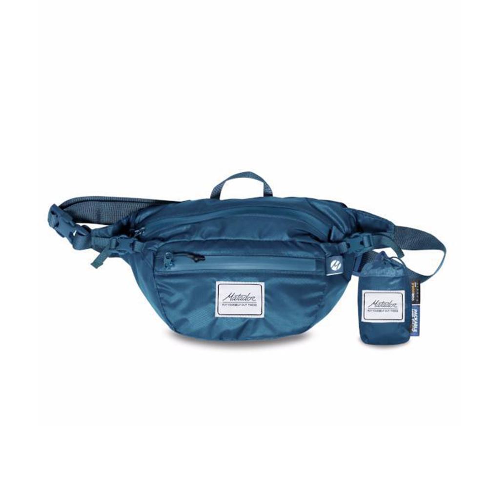 Matador 鬥牛士 │ Daylite旅行機能腰包(藍色)