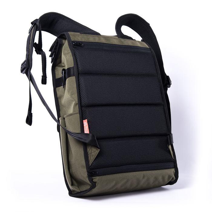 Filo Design|NYLON DAY PACK Deluxe / 日行Deluxe 橄欖綠 後背包