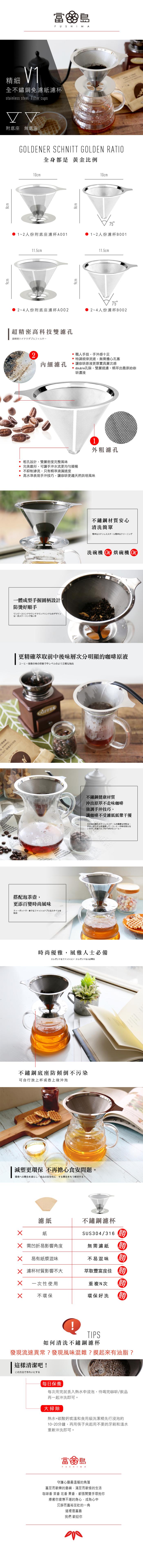(複製)FUSHIMA 富島|304不鏽鋼杯盤附湯匙組75ML