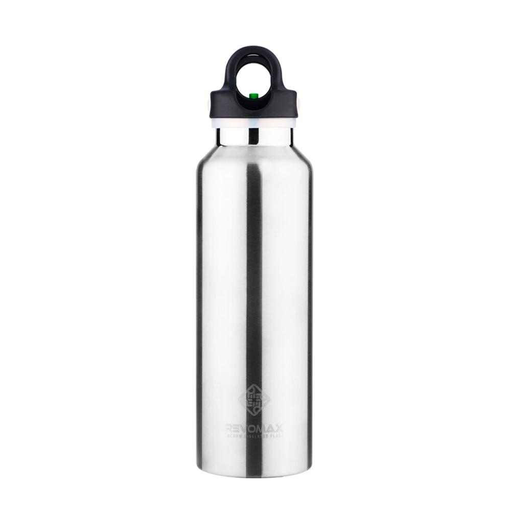 REVOMAX|316不鏽鋼保溫保冰秒開瓶592ML(經典原色)