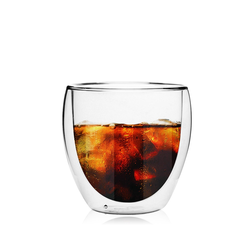 FUSHIMA 富島 經典系列雙層耐熱玻璃杯260ML
