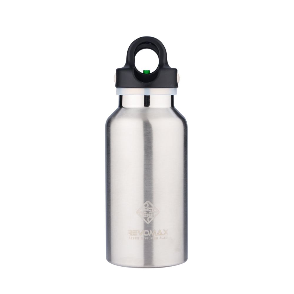 REVOMAX|316不鏽鋼保溫保冰秒開瓶355ML(經典原色)