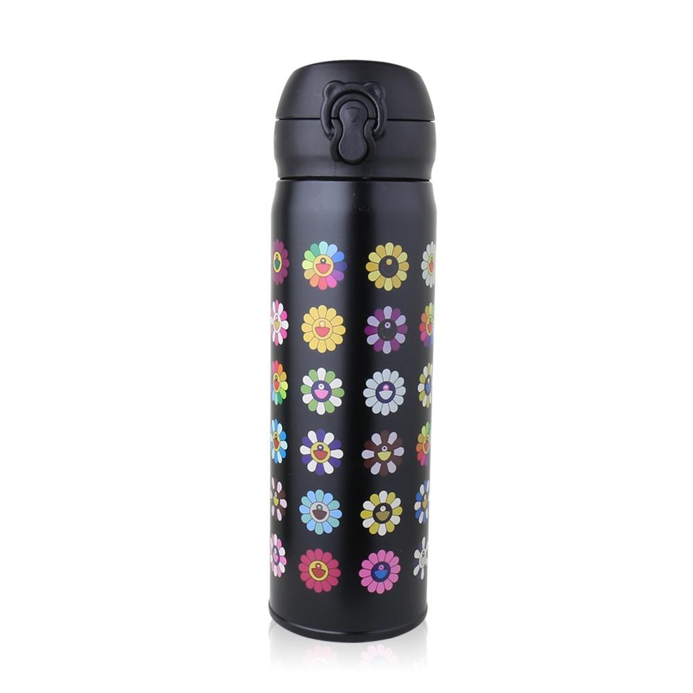 BEDDY BEAR 太陽花彈蓋款保溫保冷瓶480ML