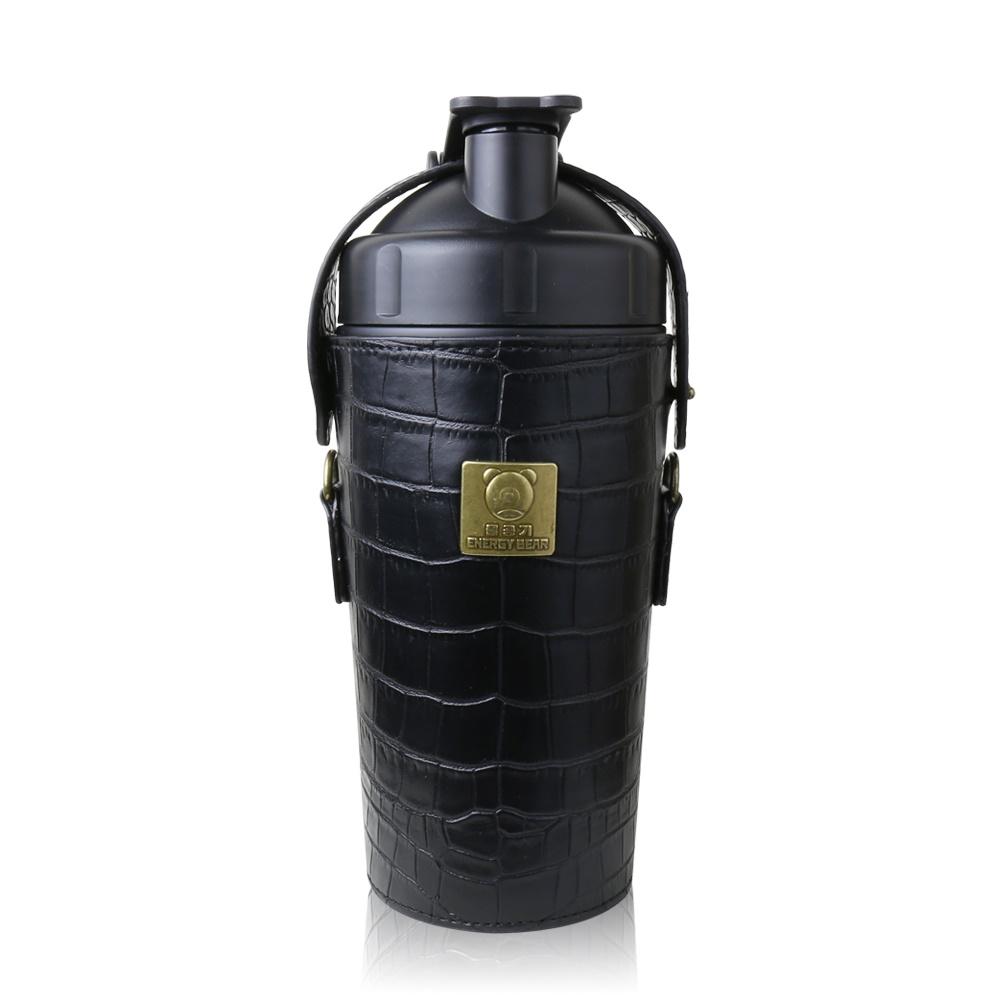 BEDDY BEAR|開芯能量可背式手提保溫保冷水壺600ML(黑色)