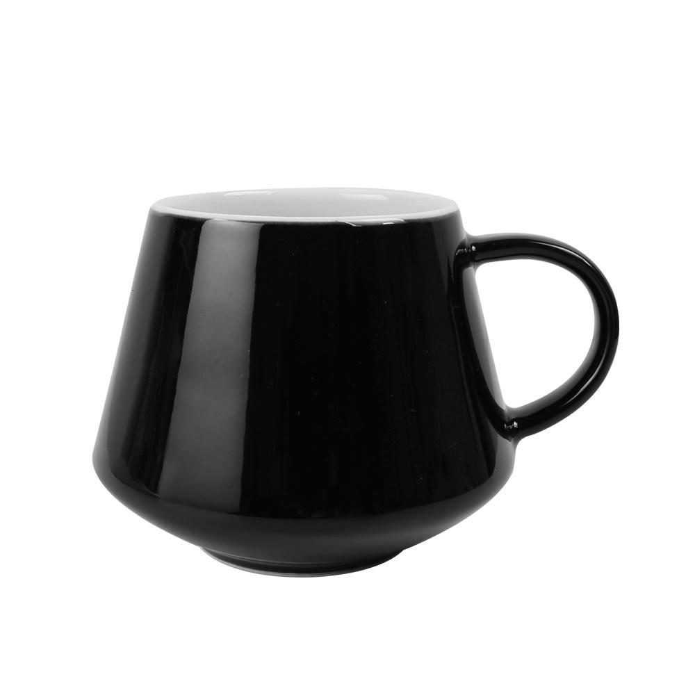 日本FUSHIMA富島|Tlar陶瓷杯400ML(黑色)
