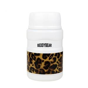 BEDDY BEAR|悶燒熊潮流真空保溫食物罐520ML(典雅豹紋款)