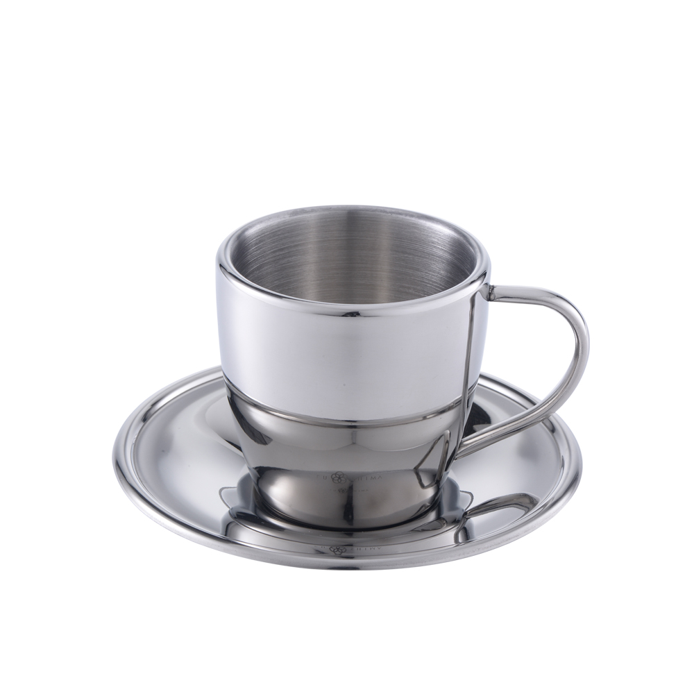 FUSHIMA 富島|304不鏽鋼杯盤組270ML