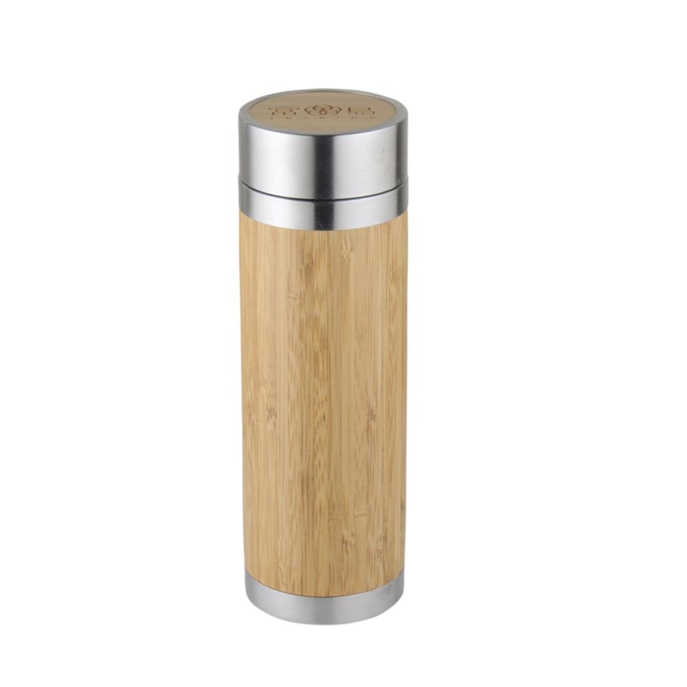 FUSHIMA 富島|品竹泡茶保冷保溫隨手瓶300ML