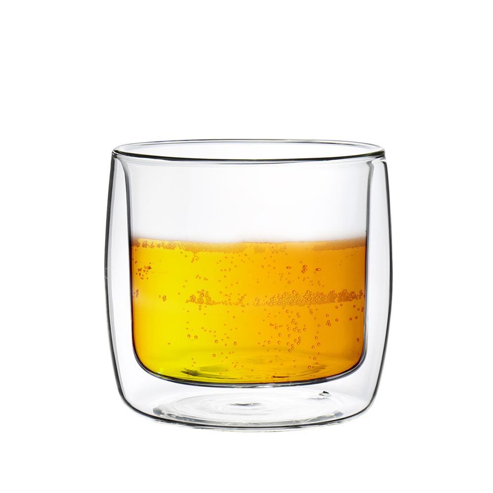 FUSHIMA 富島 英倫系列雙層耐熱玻璃杯330ML