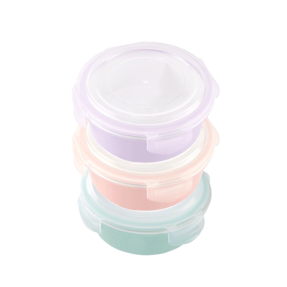 美國 Winox|樂瓷系列陶瓷保鮮盒圓形856ML(3色可選)