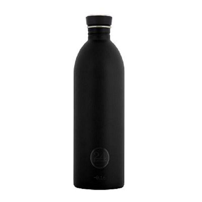 義大利 24Bottles | 城市水瓶 1000ml - 紳士黑