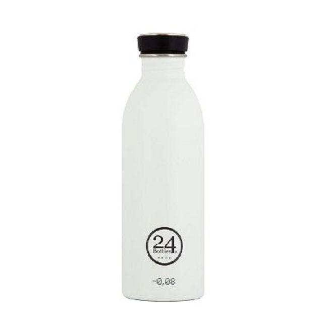 義大利 24Bottles | 城市水瓶 500ml - 冰雪白