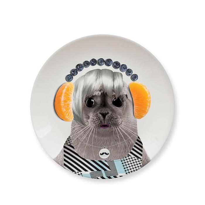 (複製)Mustard | 動物餐盤 7 吋 - 浣熊