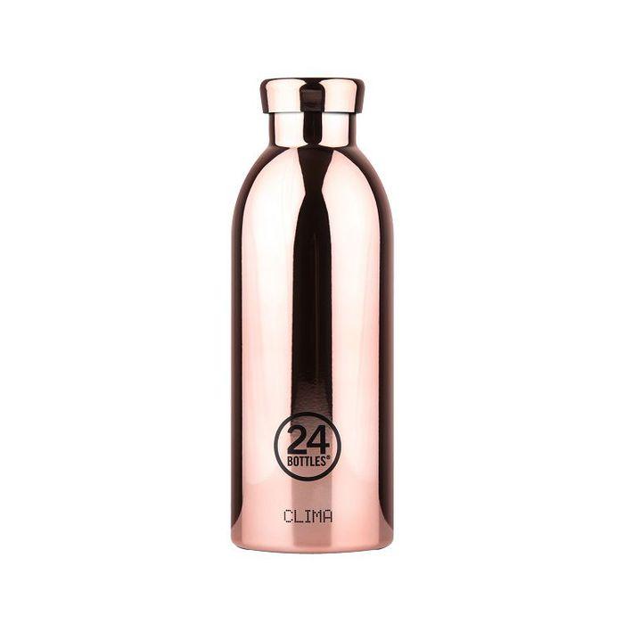 (複製)義大利 24Bottles   不鏽鋼雙層保溫瓶 500ml - 黑金