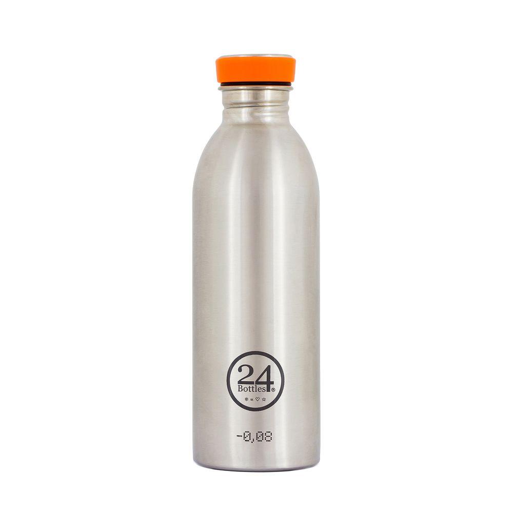義大利 24Bottles | 城市水瓶 500ml - 不鏽鋼