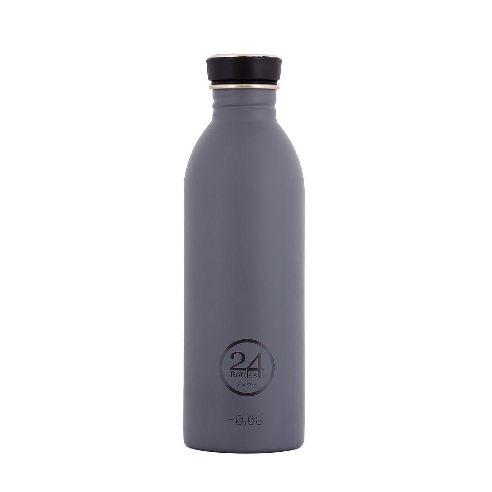 義大利 24Bottles | 城市水瓶 500ml - 典雅灰