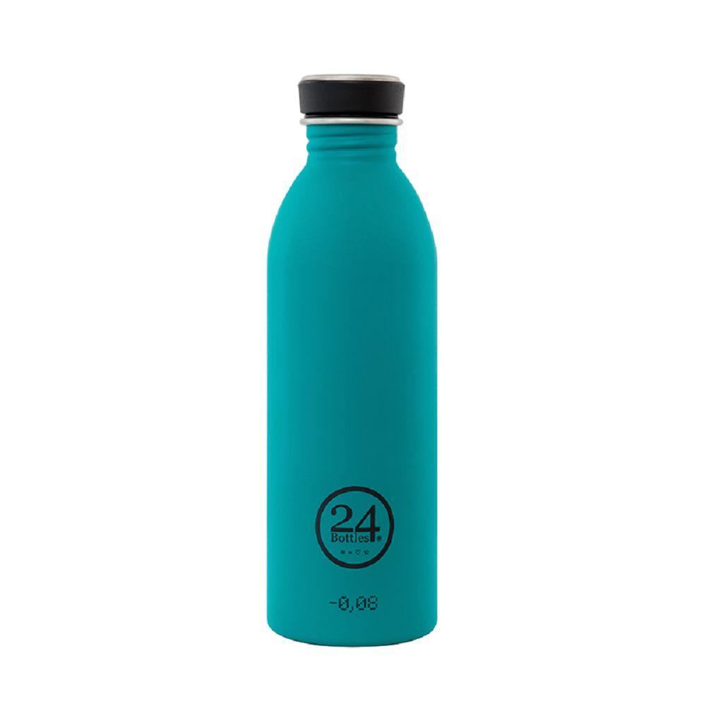 義大利 24Bottles | 城市水瓶 500ml - 海灣藍