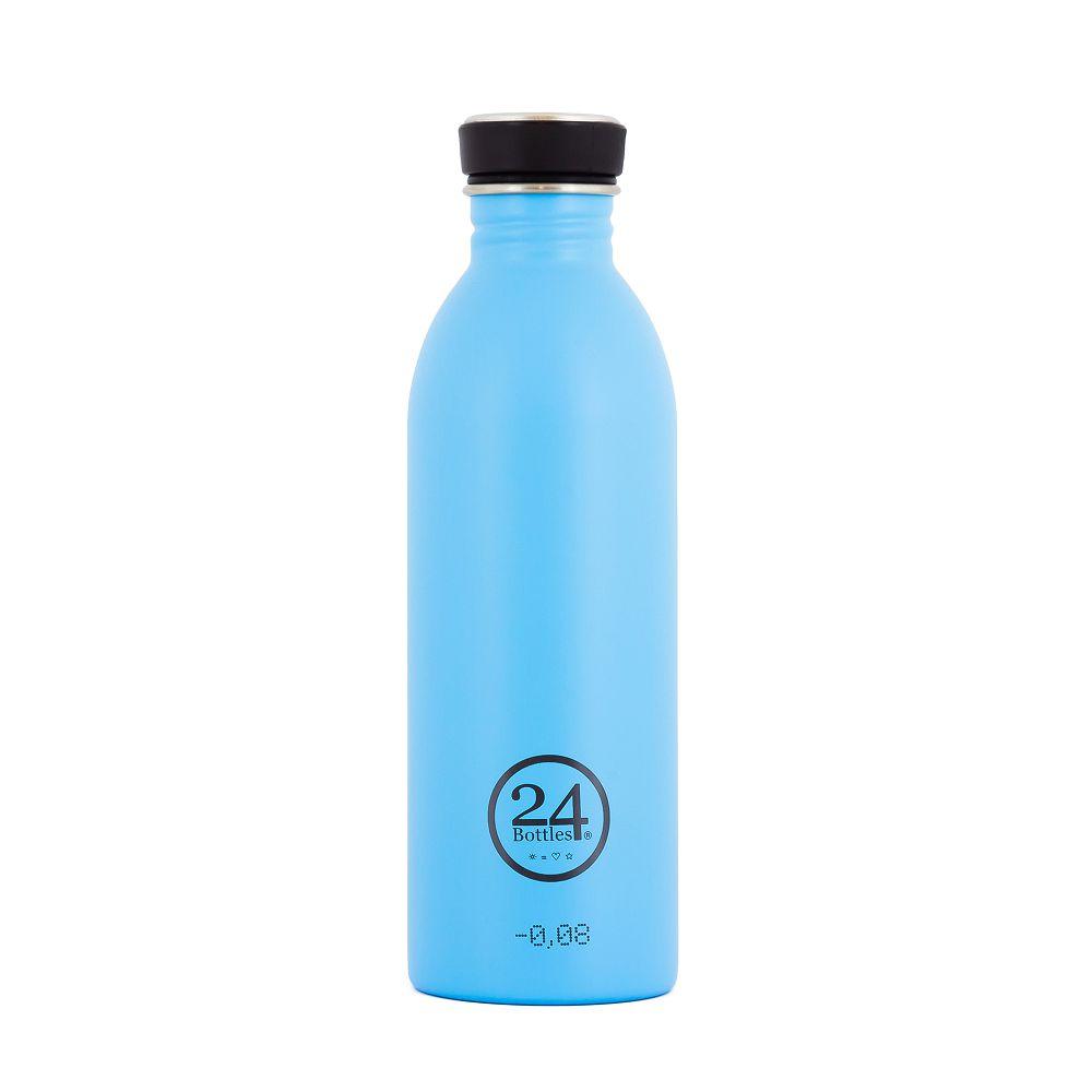 義大利 24Bottles   城市水瓶 500ml - 冰湖藍