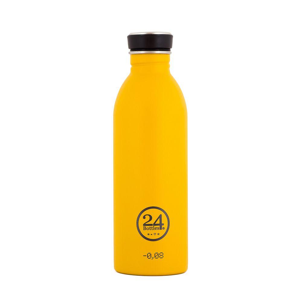 義大利 24Bottles | 城市水瓶 500ml - 狩獵黃(磨砂面)