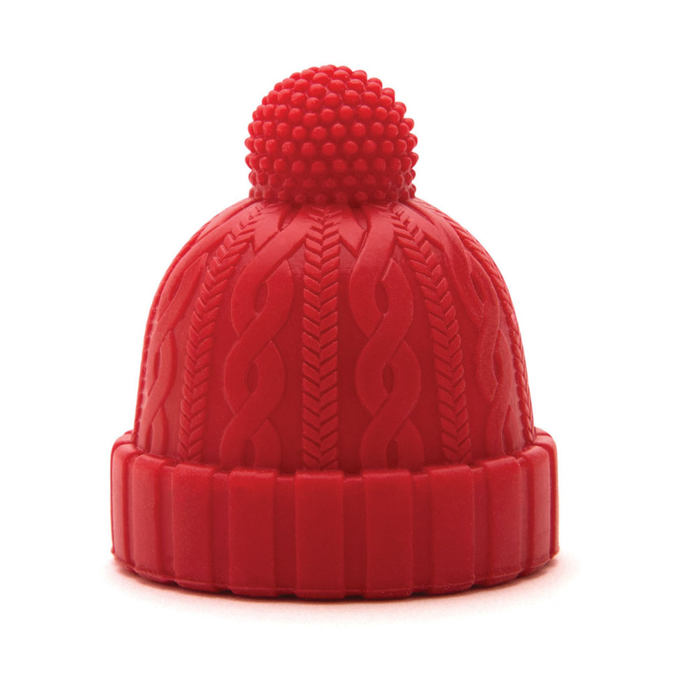 以色列 Monkey Business 酒瓶塞 - 毛帽(紅)