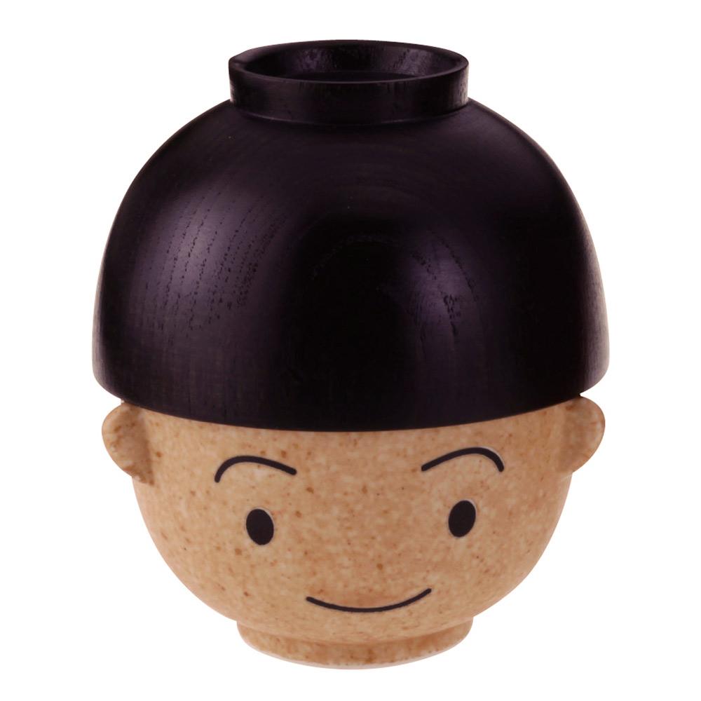 日本 sunart 飯湯碗組 - 滿福男孩