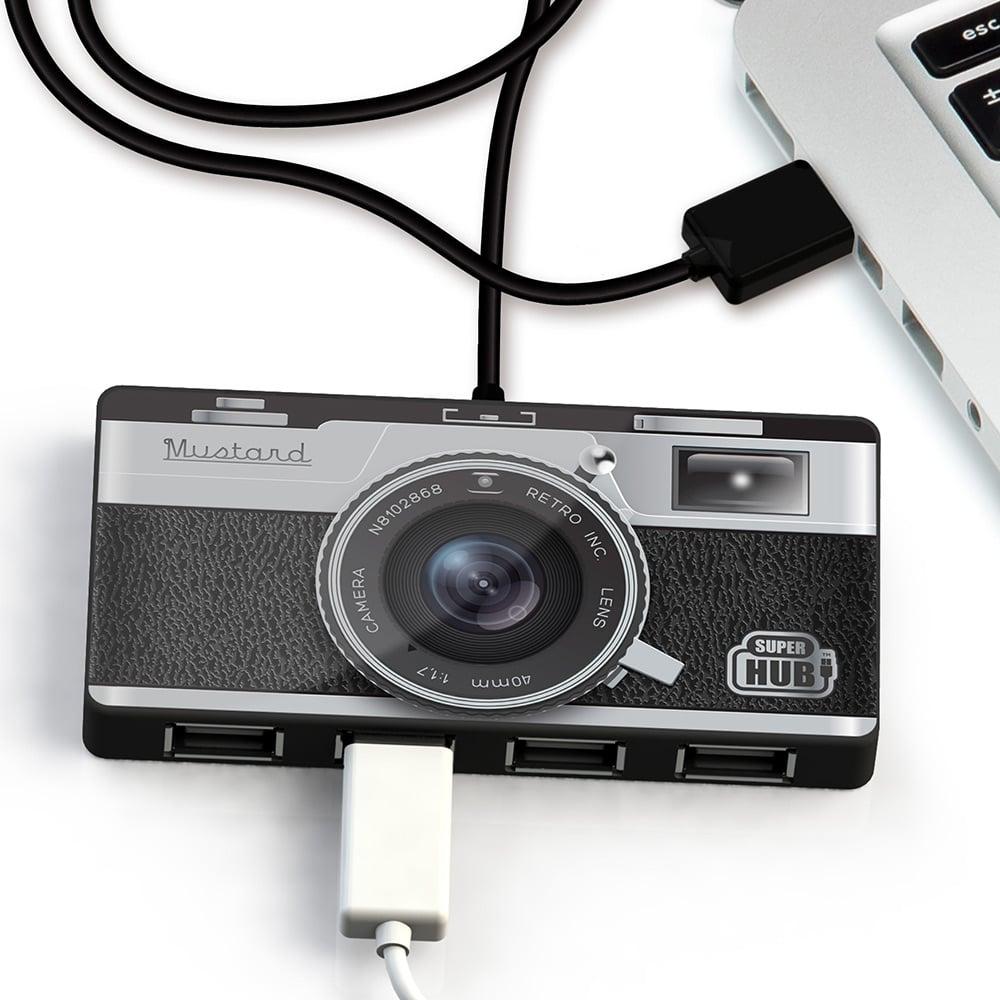 英國 Mustard | USB HUB - 復古相機