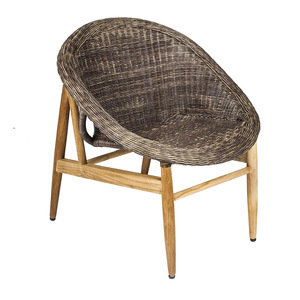 7OCEANS DESIGNS|NEST CHAIR 鳥巢單人椅 (Antique wood 復古舊木色)