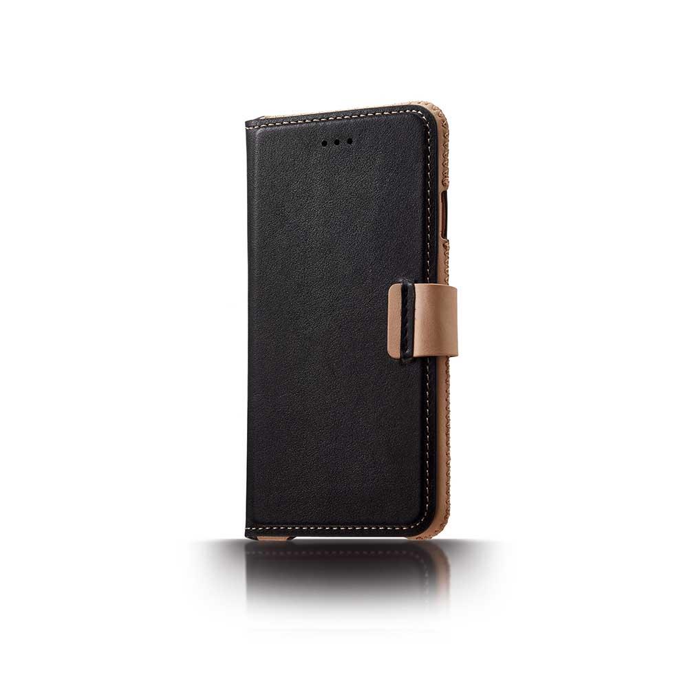 n.max.n iPhone 7 / 4.7吋 神秘系列皮革保護套 - 雅緻黑