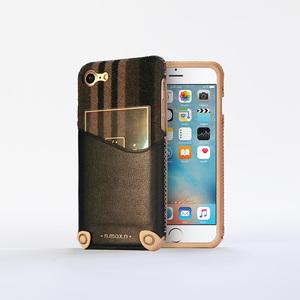 n.max.n|iPhone 7 / 4.7吋 新極簡混搭款皮革保護套 - 雅緻黑
