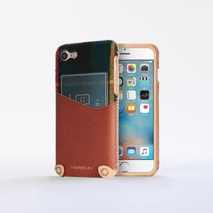 n.max.n|iPhone 7 / 4.7吋 新極簡混搭款皮革保護套 - 馬鞍棕
