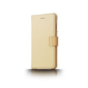 n.max.n|iPhone 7 / 4.7吋 神秘系列皮革保護套 - 杏白