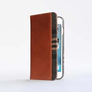 n.max.n|iPhone 7 PLUS / 5.5吋 神秘系列層疊款皮革保護套 - 馬鞍棕